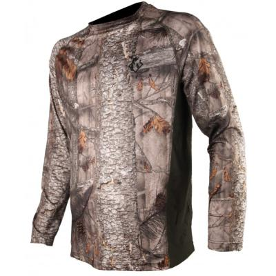 Tee-shirt manches longues camo 3DX